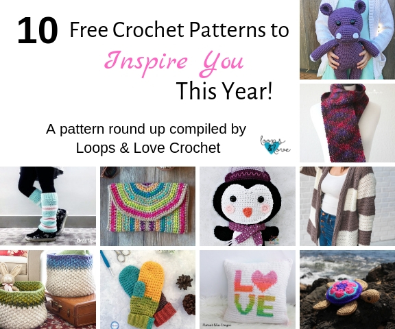 10 Crochet Patterns to Inspire You This Year