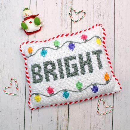Crochet Bright Pillow