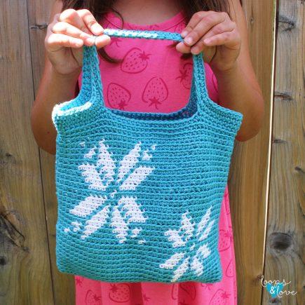 Crochet Snowflake Bag