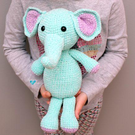 Crochet Elephant Amigurumi