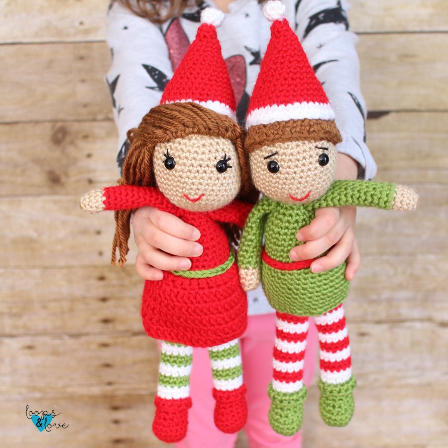 Elf Amigurumi Free Crochet Pattern
