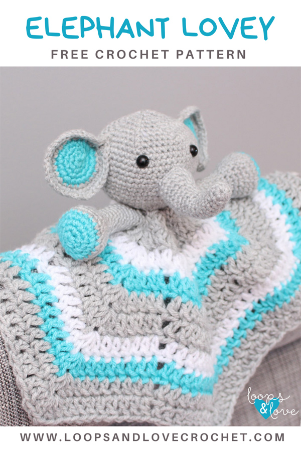 pinterest pin image for elephant lovey