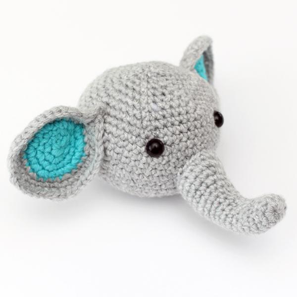 elephant head finished
