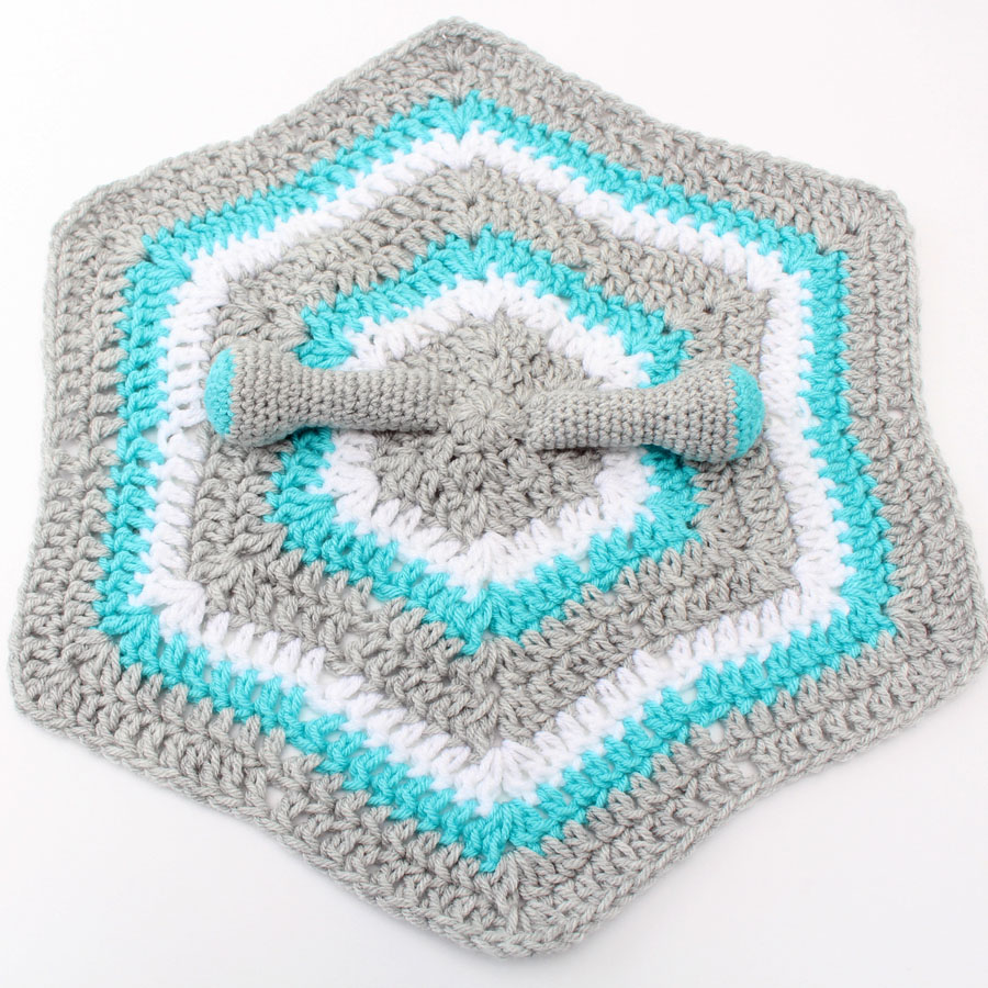 lovey blanket with arms